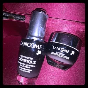 Lancome advanced face and eye youth serum